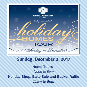 Holiday Homes Tour Benefitting Health Care Access
