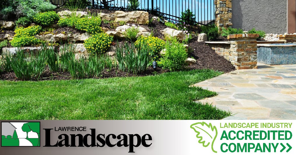 Lawrence Landscape Has Earned The Landscape Industry Accredited Company  Designation! - Lawrence Landscape Has Earned The Landscape Industry Accredited