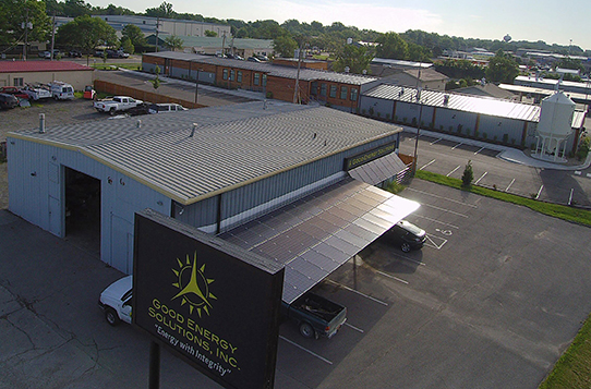 Good Energy Solutions of Lawrence, Kansas Featured on 2019 Top Solar Contractors and Top 100 Commercial Contractors Lists