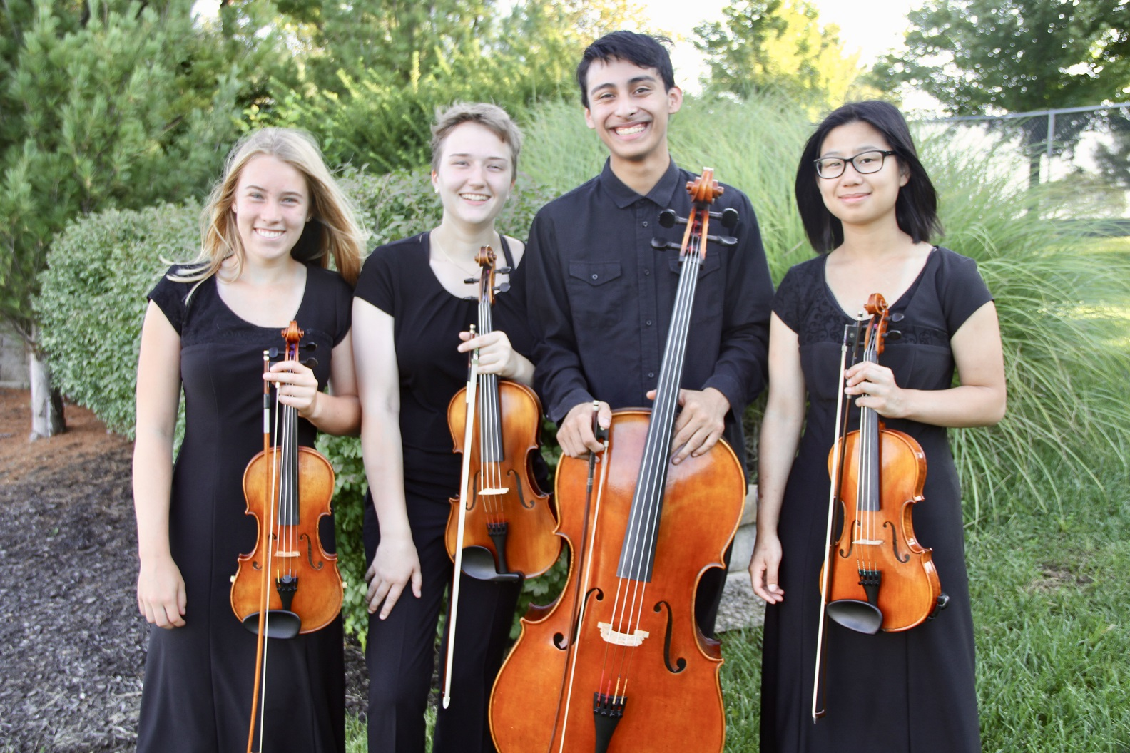 Local high school string quartet to join touring Beatles vs. Stones show on Lawrence stage