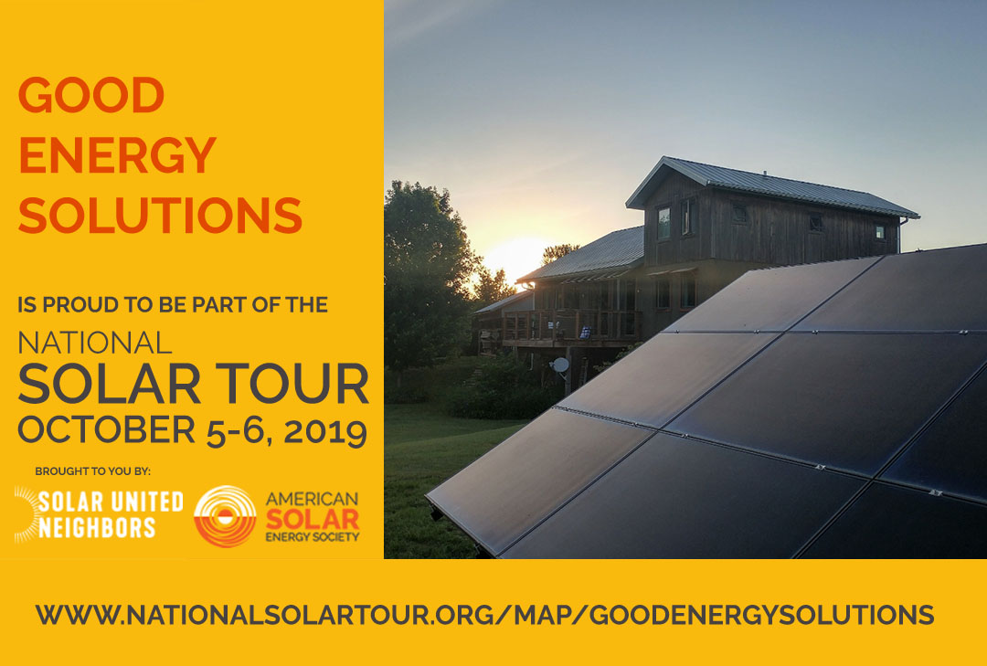 National Solar Tour – See Solar Energy in Action