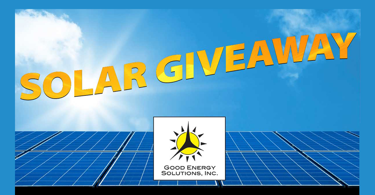 Sunrise Project Has Been Awarded a Solar Energy System from Good Energy Solution's 2020 Solar Giveaway Program