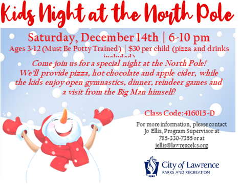 Kids Night Out at the North Pole!