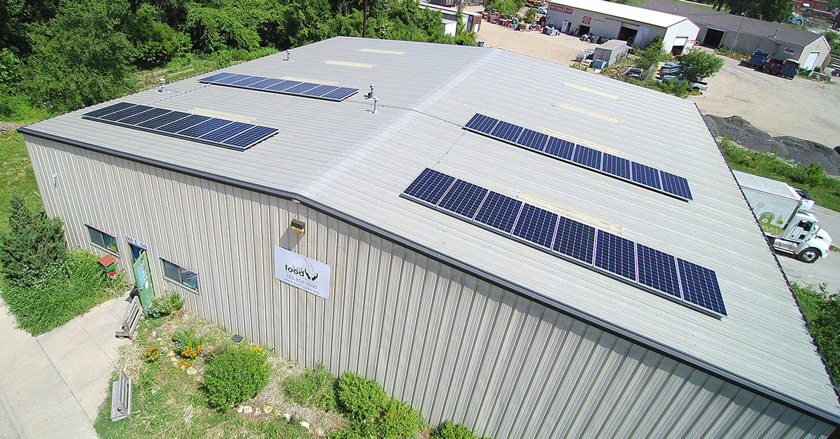 Just Food Receives Solar Donation to be Installed by Good Energy Solutions