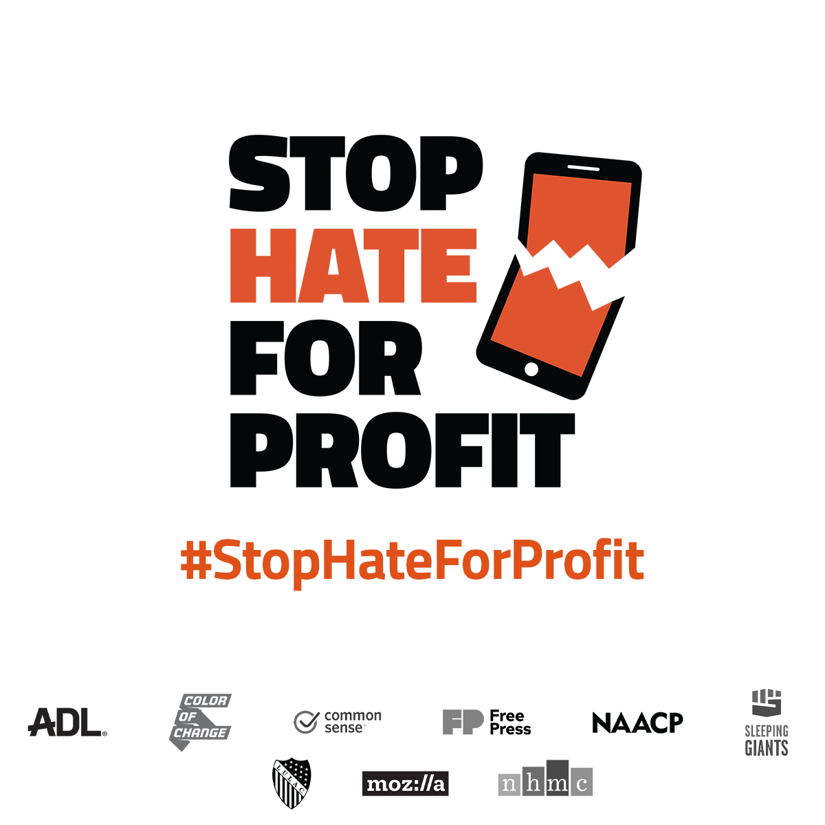 EXPLORE LAWRENCE JOINS THE 'STOP HATE FOR PROFIT' CAMPAIGN